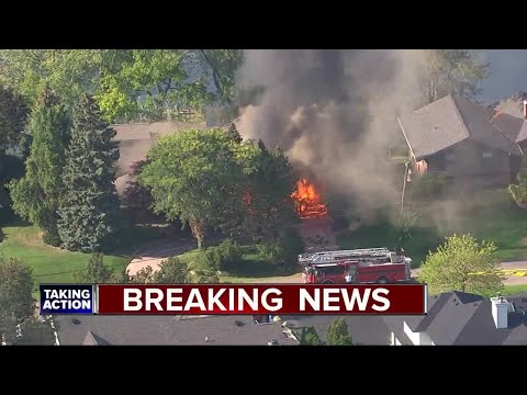 West Bloomfield Township home destroyed by fire