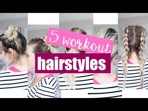 Fashion Finds - 5 Trendy Workout Hairstyles!