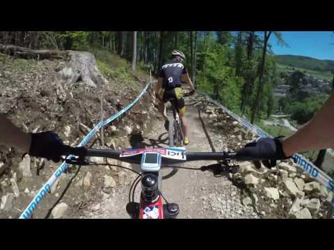 UCI MTB World Cup XCO Albstadt 2017 track POV