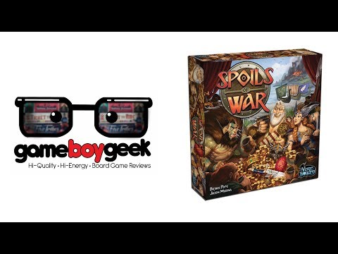Spoils of War Review with the Game Boy Geek
