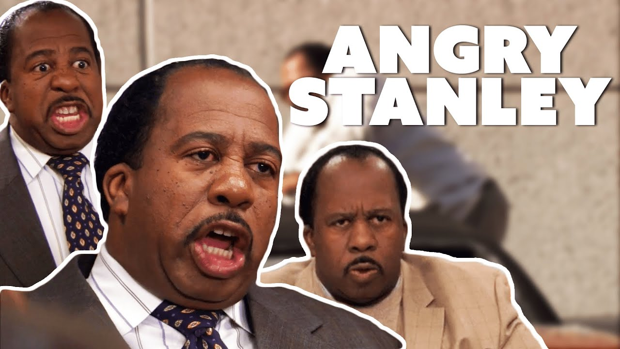 Stanley Hudson McFreaking Losing It (Angry Stanley) | The Office | Comedy Bites