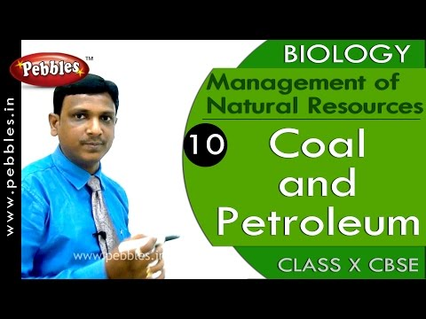 Coal and Petroleum | Management of Natural Resources | Biology | CBSE Class 10 Science