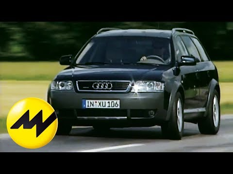Audi Allroad Quattro 2 5 Tdi Der Offroad Kombi Im Test