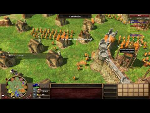 Age of Empires III Multiplayer - Colloseum Szenario #3 [Deutsch/HD]