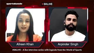 Exclusive#SKLive with Arpinder Singh (Indian Triple Jumper)