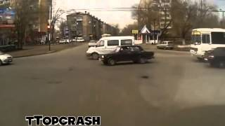 Lada - Daewoo Nexia :: Crash Test