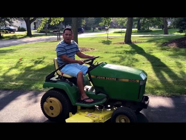 John Deere 265 Lawn Tractor | John Deere Lawn Tractors: John Deere