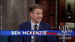 ben mckenzie argues that batman wasnt the first batman
