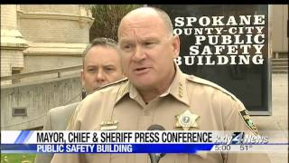 Sheriff, Spokane leaders show solidarity in sex assault investigation