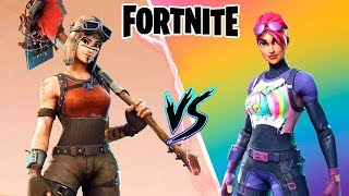 FORTNITE - Renegade Raider VS Brite Bomber DUELO SKINS