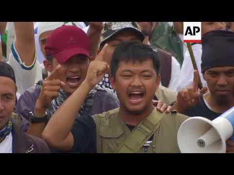 Indonesians protest Trump's Jerusalem move