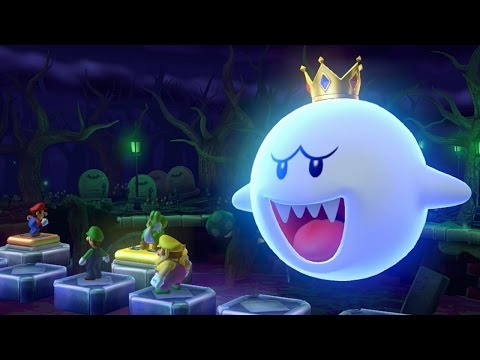 Mario Party 10 - All Stage Bosses