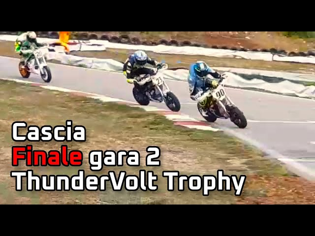 Finale gara 2 ThunderVolt Trophy a Cascia