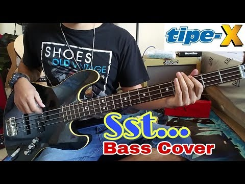 Tipe-X _ Sst...  Bass Cover
