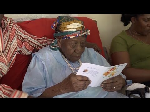 Woman Credits Hard Work and Faith To Being New Oldest Living Person at 117