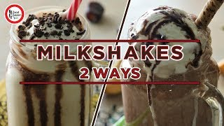 Milkshake recipes 2 ways by Food Fusion Kids