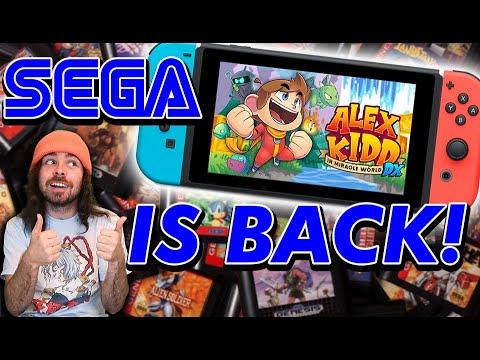 SEGA Is BACK!! Bringing Back Old IP's! Alex Kidd In Miracle World DX!