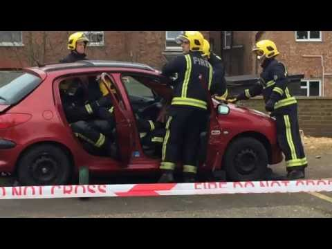 Brent Fire Saftey Event 2016 - Demo by the Firemen
