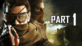 Metal Gear Solid 5 The Phantom Pain Walkthrough Part 1 - First 3.5 hours! (MGS5 Let