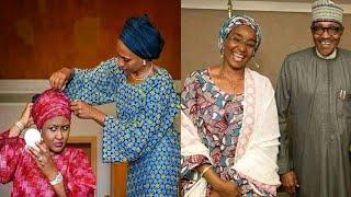 Tirkashi! Aisha Buhari ta dawo an rufe mata kofar shiga villa ana gobe daurin aure