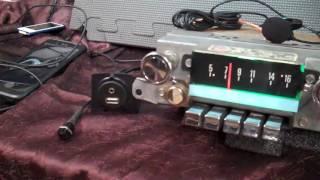 1967 Ford Galaxie 500 original AM radio