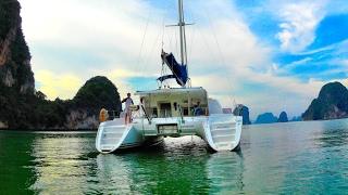 Обучение яхтингу в Тайланде в яхтенной школе Яхт Дрим.. Часть 1