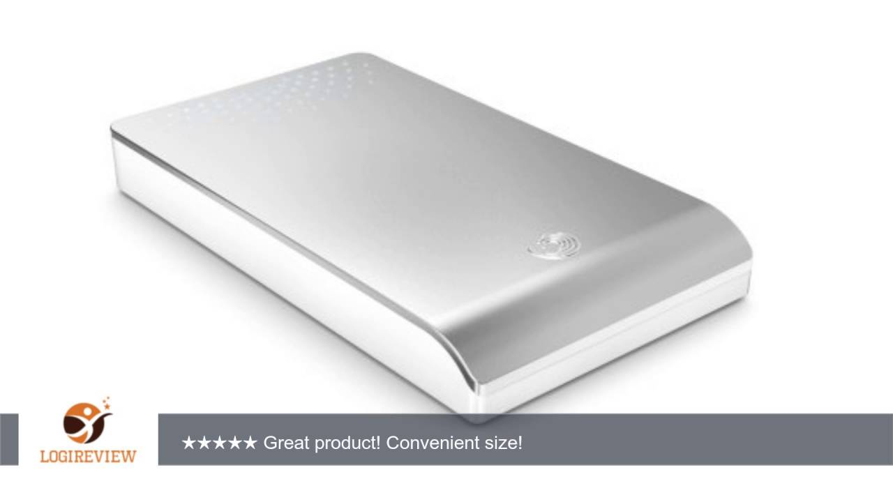 Seagate FreeAgent Go for Mac 320 GB USB 2.0/FireWire 800 Portable ...