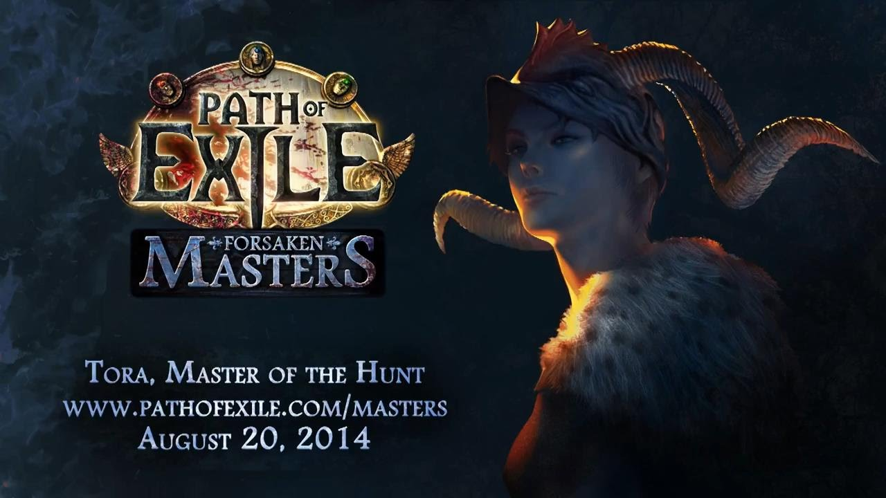 Path Of Exile Forsaken Masters Tora Master Of The Hunt Rus Sub Youtube