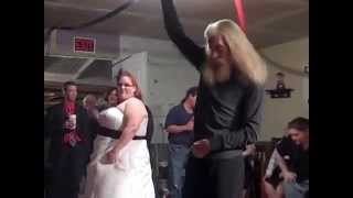 Amberly and Terry, the Father & Daughter Dance at Wedding