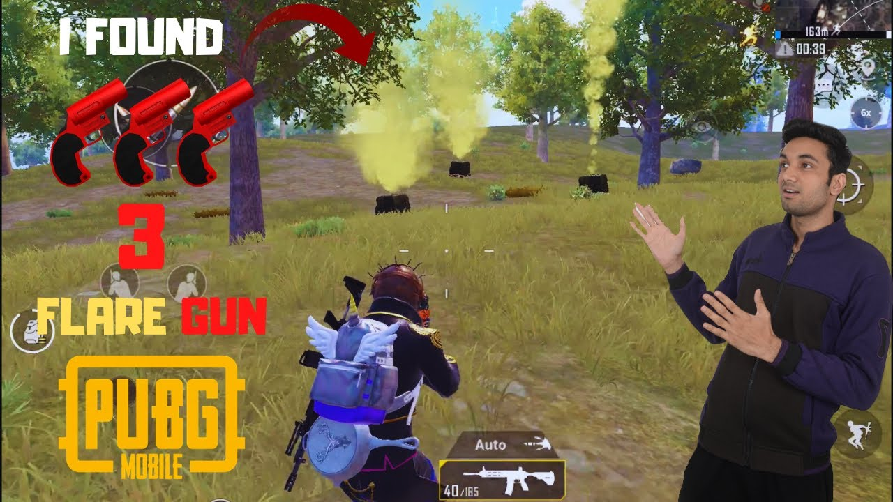 I Try To Loot 3 Flare Gun Drop Can I Win This Time Pubg Mobile