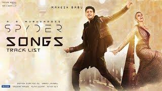 Spyder movie songs | track list | mahesh babu | rakul preet singh | tfpc