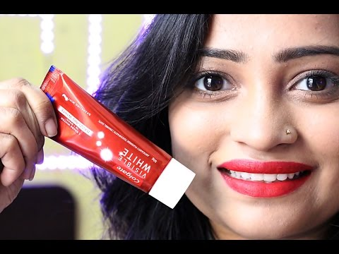 Colgate Visible White Dazzling White Toothpaste | How to get white, Shining Teeth in one week
