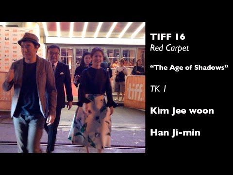 """TIFF 16 - Red Carpet - North American Premier -""""The Age of Shadows"""" TK-1"""