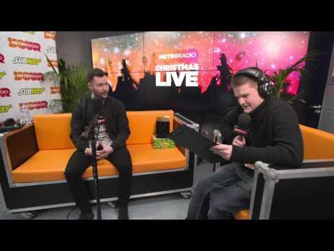 Calum Scott At Metro Radio Christmas Live 2016