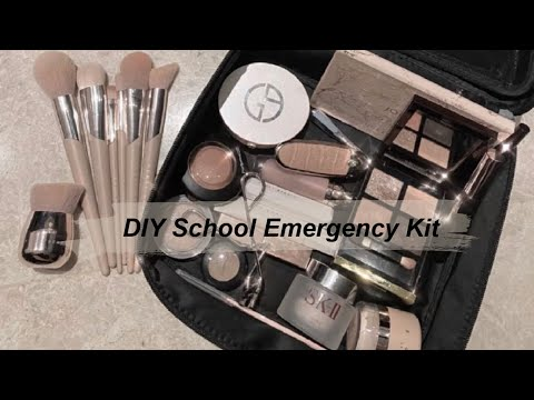 DIY School Emergency Kit ♡