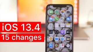 iOS 13.4: 15 new features