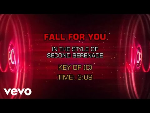 Secondhand Serenade - Fall For You (Karaoke)