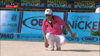 Masters de pétanque 2015 -  Finale - Soulac sur mer - 2nde étape