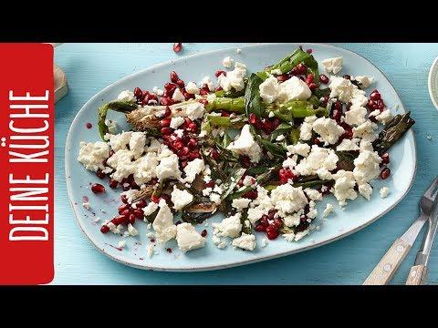 Lauch-Feta-Salat zum Grillen | REWE Deine Küche