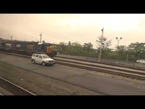 Riding the Amtrak Autumn Express 10/14/17 Part 2 - North Bergen to Selkirk