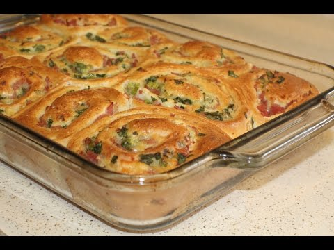 Ham and Cheese Scrolls (Simple Baking)