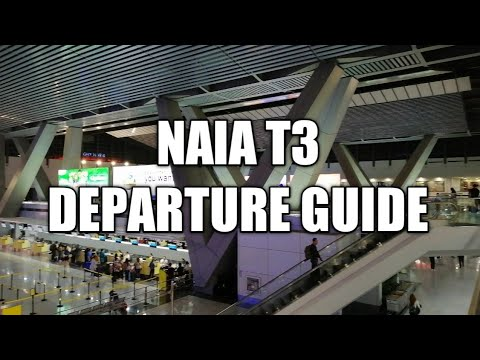 NAIA Terminal 3 Departure Guide. (Ultimate Guide)