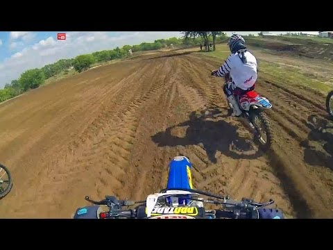 SuperMini vs 450F Battle at Sunset Ridge (Chase Sexton) - Dirt Bike Addicts