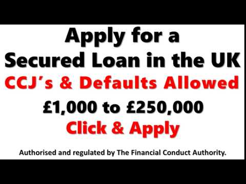 secured loans - rebuilding credit - secured loans