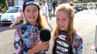 Maud (11) uit Beesd oefent als presentator van het Jeugdjournaal en maakt serieus kans