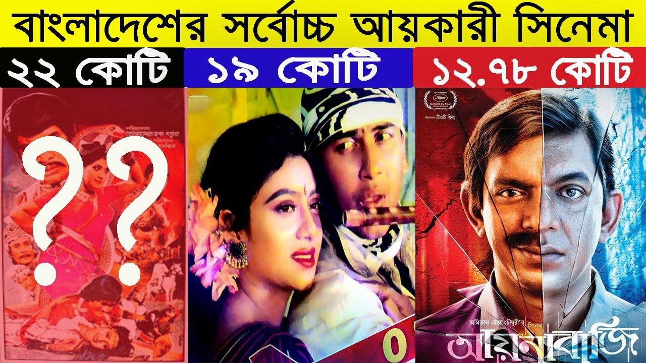 Highest grossing Bangladeshi Movies - Salman Shah - Manna - Shakib Khan - Sabnur - Films