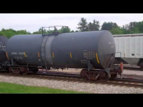 Iowa Interstate CBBI and PESI trains in Bureau Junction, IL plus the CBBI in La Salle, IL 05/21/16
