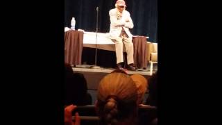 Dick Gregory LIve Sidney Marcus Auditorium  8/29/15