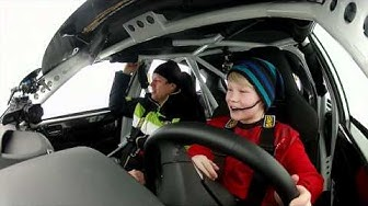 Kalle Rovanperä - ikää 11 vuotta ja vauhtia yli 200 km/h (Teknavi 2012)