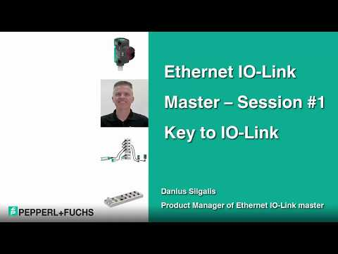 Part 1 | Ethernet IO-Link Master | Key to IO-Link